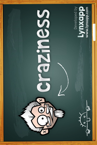 Craziness is a brain teaser game and iphone ipad itouch application